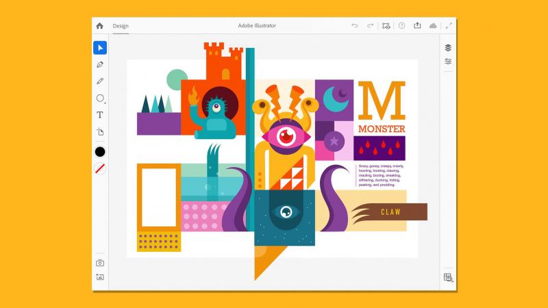 Adobe Illustrator cập bến iPad vào 21 tháng 10