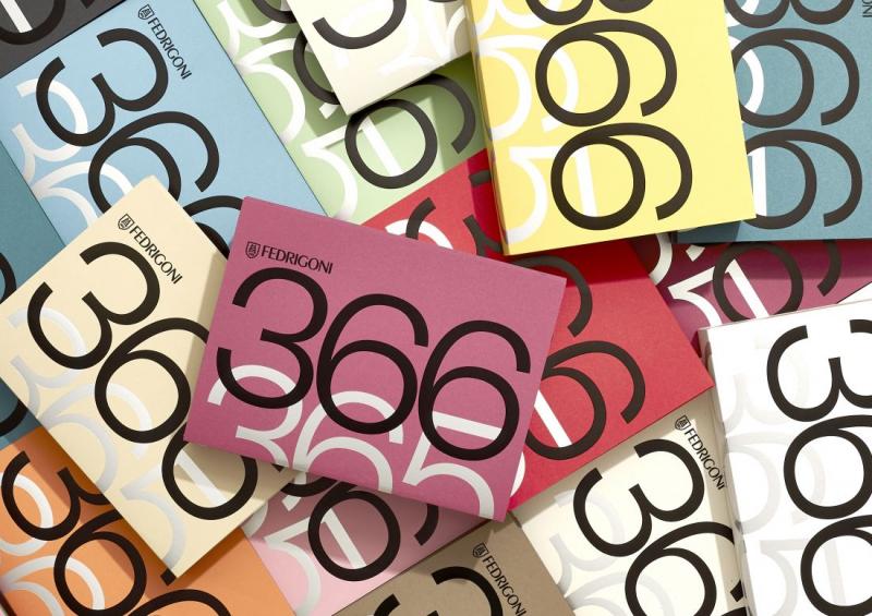 Thiết kế lịch bùng nổ màu sắc kỉ niệm năm nhuận 2020 của Fedrigoni