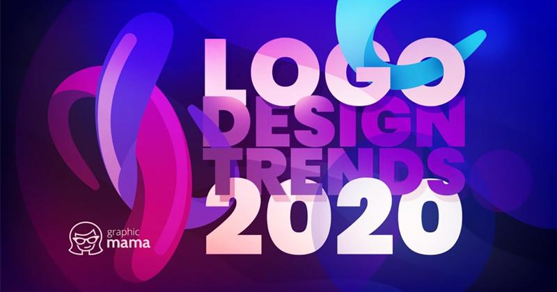Xu hướng thiết kế logo 2020: Sự bùng nổ của màu sắc và hình dạng