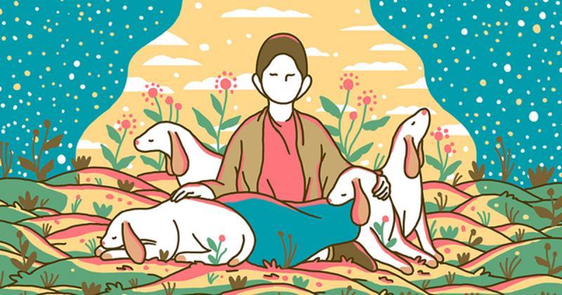 Truyện tranh Quiet của Evan Cohen kể về hành trình tìm kiếm sự bình yên trong cuộc sống