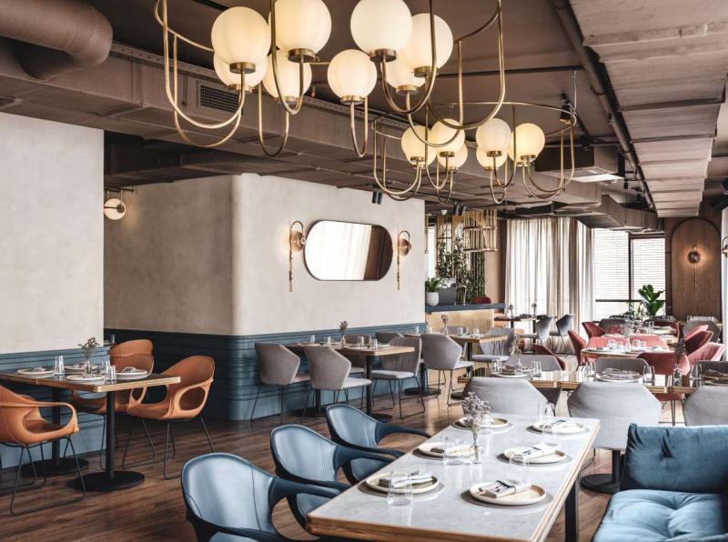 Nhà hàng 'The Y' tại Moscow chào đón thế hệ Millennial với gu thẩm mỹ hoài cổ khó cưỡng
