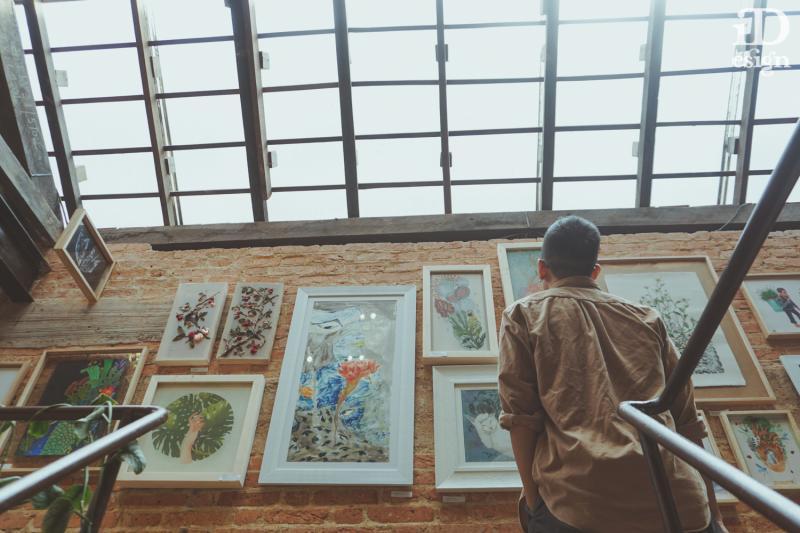 Triển lãm Nảy mầm: Khi tình yêu thiên nhiên và niềm đam mê nghệ thuật gặp nhau