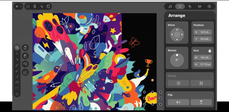 5 ứng dụng iPad miễn phí cho các nhà thiết kế đồ họa thích xê dịch