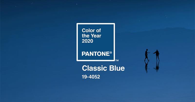 Hiểu thêm về Classic Blue - màu sắc của năm 2020