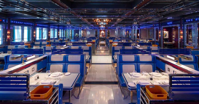 Nhà hàng cao cấp Bob Bob Cité đưa bạn vào không gian đầy mộng tưởng trong phi thuyền