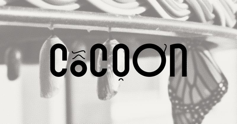 Cocoon / Kén typeface - Bộ chữ lấy cảm hứng từ những chiếc kén tằm