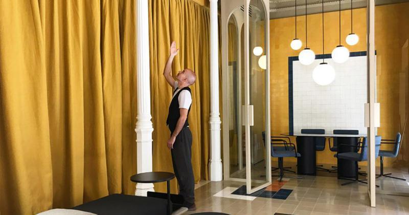 Studio Casa Josephine với không gian linh hoạt để tái sắp xếp khi cần