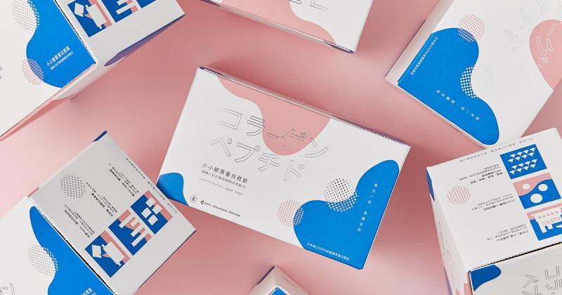 Bao bì thiết kế đầy nữ tính dành cho sản phẩm collagen Nippi