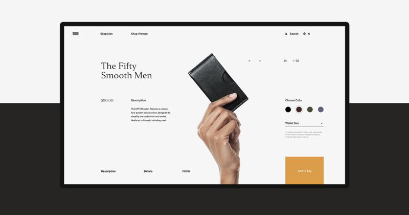[UI Inspiration] Sức hấp dẫn của phong cách Minimalist trong thiết kế thương hiệu và UX/UI cho Uinetry™
