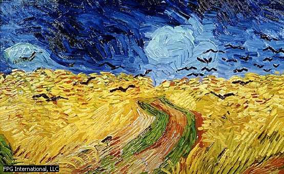 /viết một tay/ Van Gogh: Nỗi buồn kéo dài mãi mãi