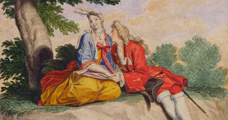 Nghệ thuật ngày Valentine qua các tác phẩm và kỉ vật trong Bộ sưu tập Hoàng gia Anh