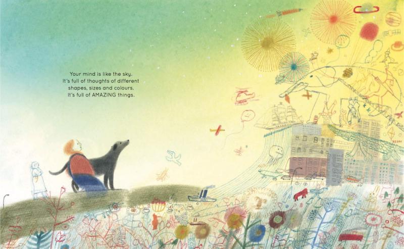 'Tâm trí ta tựa như bầu trời' - Quyển sách tranh mở ra cuộc hội thoại về chánh niệm