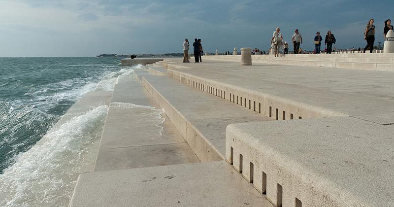 Cây đàn organ dài 70 mét ở Croatia tạo ra thứ âm nhạc huyền bí của đại dương