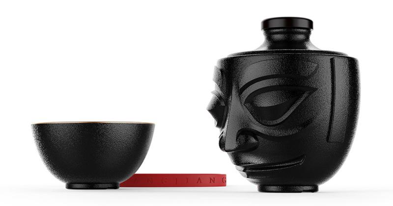Hũ rượu truyền thống lấy cảm hứng từ cổ vật Tam Tinh Đôi ở Trung Hoa