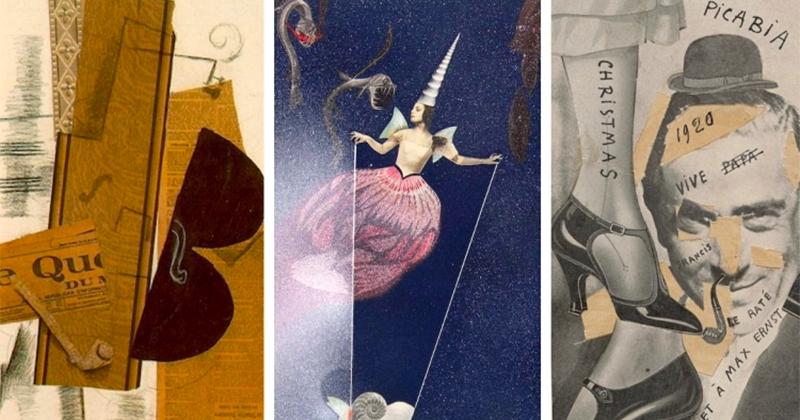 Không chỉ là cắt dán, Collager Art còn là sự kết hợp độc đáo của nhiều trường phái nghệ thuật