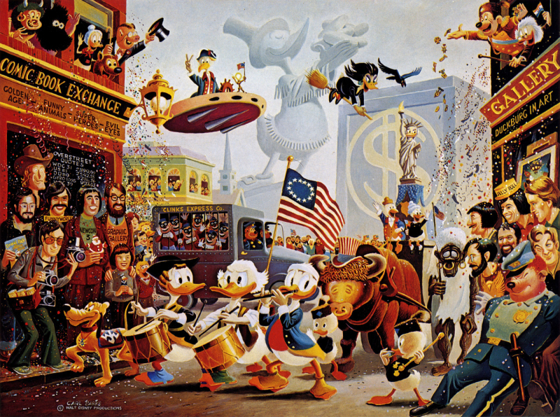 Ai cũng cần hài hước vì cuộc đời thật rắc rối: Carl Barks - Người tượng hình chú vịt trứ danh nhà Disney