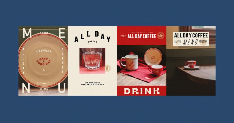 Khi 'cà phê' là 'ngôn ngữ' - GM creative mở rộng cảm nhận của khách hàng bằng bộ nhận diện All Day Coffee