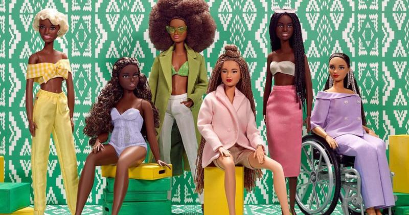 Dòng sản phẩm Barbie mới vinh danh văn hoá của cộng đồng người da màu