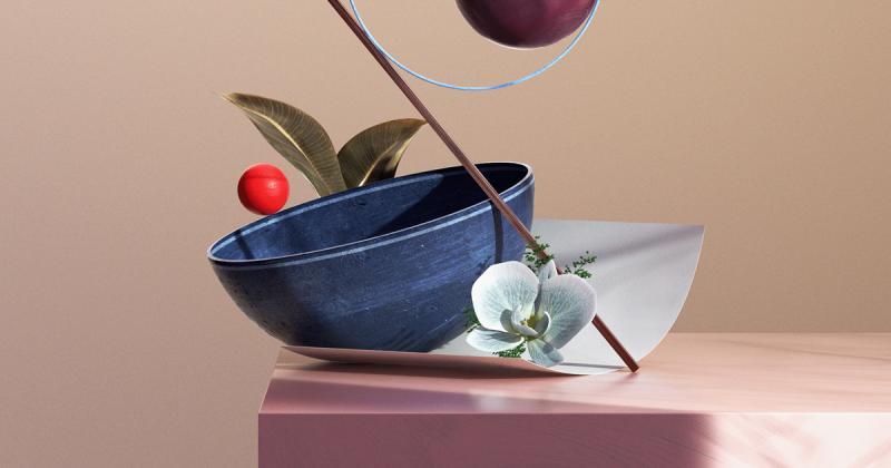 Dự án Botánica: Anh nghệ sĩ cắm hoa bằng phần mềm 3D nhằm cải thiện kỹ năng cảm nhận nghệ thuật