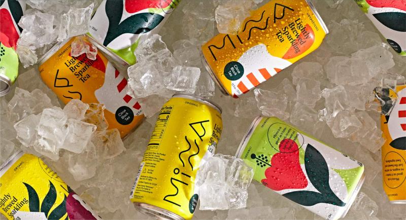 Sự tinh giản gắn kết mọi người của trà trái cây có gas đến từ thương hiệu Minna