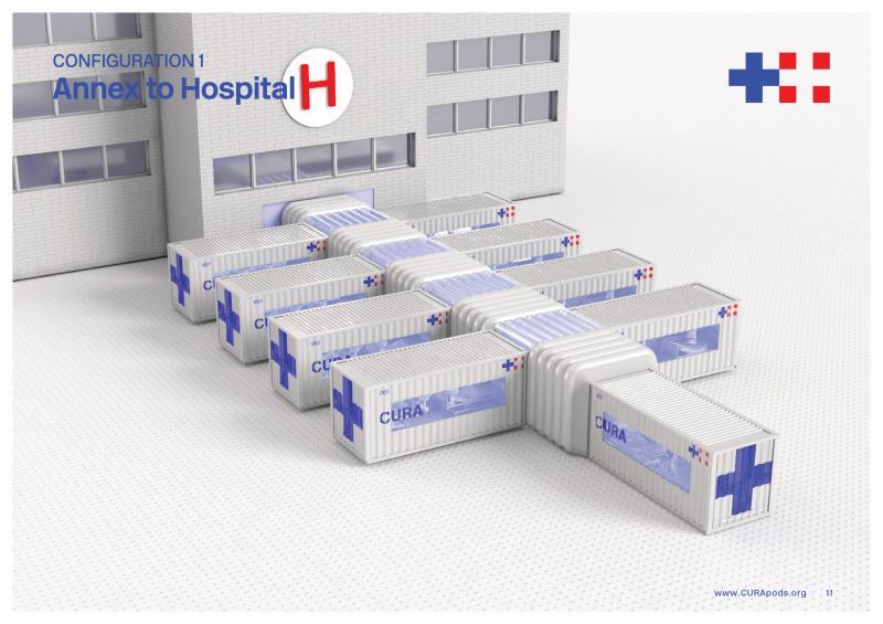Biến container cũ thành phòng chữa trị virus: Sự hợp tác của hơn 100 nhà sáng tạo trên toàn thế giới