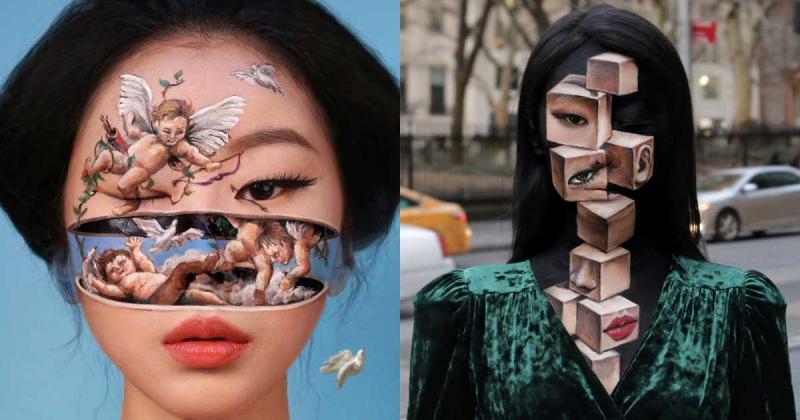 Dain Yoon và khả năng xuyên thấu với nghệ thuật trang điểm đánh lừa thị giác