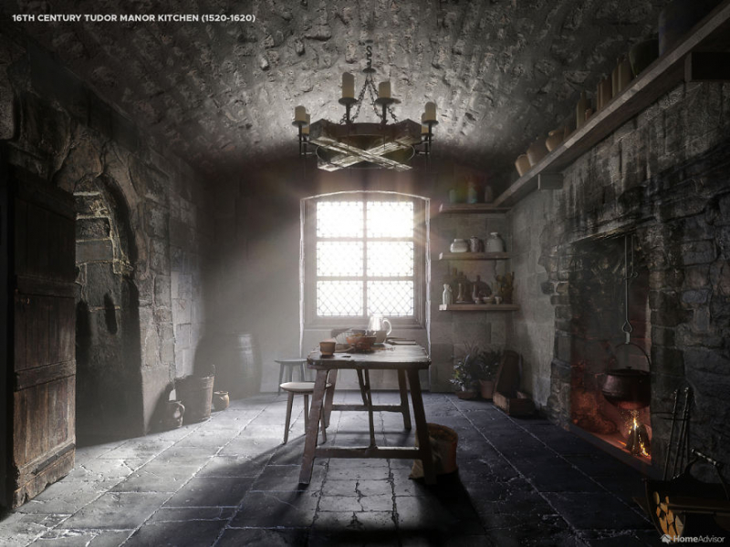 Hành trình thay đổi của thiết kế nhà bếp qua 5 thế kỉ