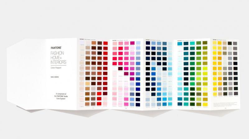 Pantone giới thiệu 300 màu sắc mới theo xu hướng