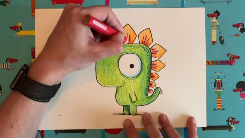 Video hướng dẫn vẽ miễn phí cho tụi nhóc bị 'kẹt ở nhà' - từ anh họa sĩ trẻ vui tánh