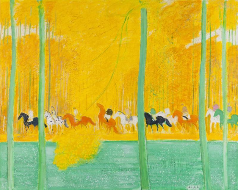 André Brasilier - tinh thần Pháp du lãng và những bức tranh thơ mộng trong sự nghiệp hơn 60 năm cầm cọ