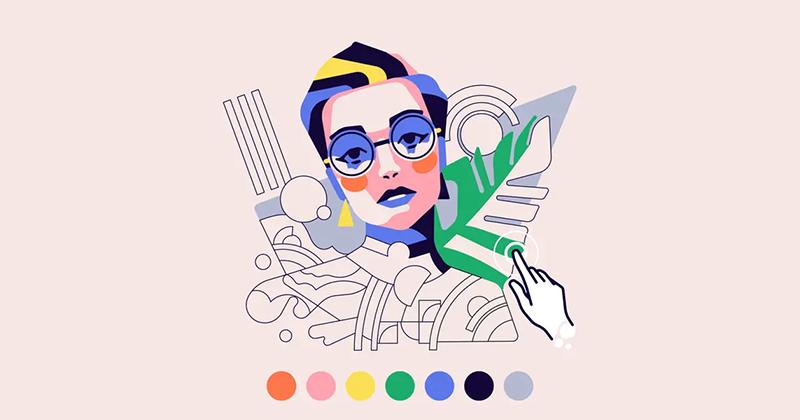 Hướng dẫn cách làm việc hiệu quả với màu sắc trong hình minh họa kỹ thuật số