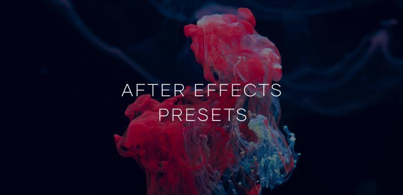 Tổng hợp preset miễn phí cho After Effect theo chủ đề