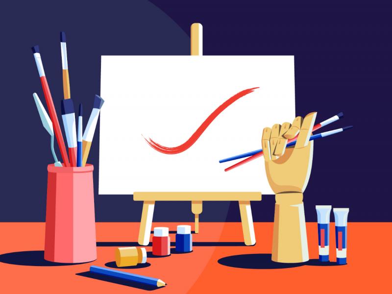 Làm cách nào để tự học các nguyên tắc nghệ thuật cơ bản?