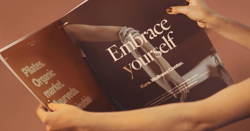Kura: Bộ nhận diện thể hiện châm ngôn 'yêu mến bản thân là yêu mến tâm hồn'