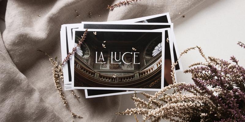 Bộ nhận diện hoài cổ dành cho studio chụp ảnh cưới La Luce