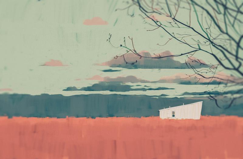 Trốn chạy khỏi thực tại đến những căn nhà nằm tĩnh lặng giữa thiên nhiên của Darya Shnykina