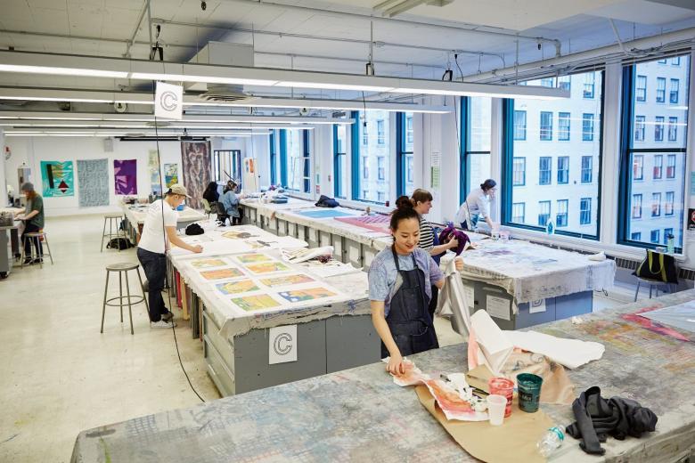 Sinh viên nghệ thuật và thiết kế tại Mỹ được học những gì?