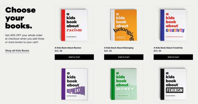 Bộ sưu tập sách trẻ em về những vấn đề nan giải khó đối thoại - A Kids Book About