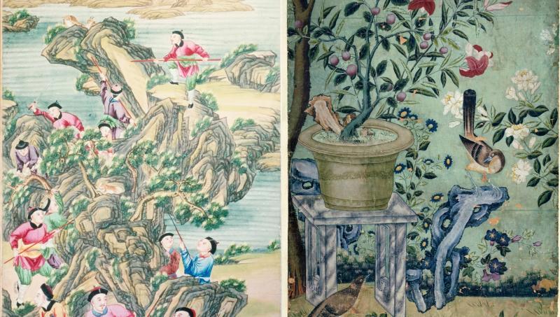 Quá khứ của giấy dán tường Trung Hoa ở phương Tây và những điều thú vị về 'chinoiserie style'