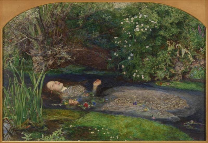 Nàng thơ tóc đỏ Elizabeth Siddal cùng bi kịch có thực phía sau bức tranh 'Ophelia'  ám ảnh