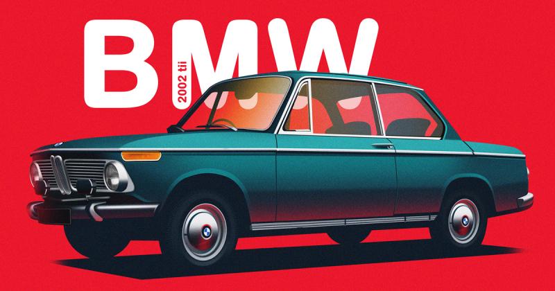 Những mẫu xe nổi bật nhất trong lịch sử được minh họa bởi Yuliia Lobodiuchenko