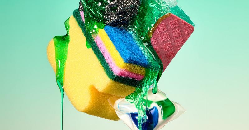 Bộ ảnh thử nghiệm nghệ thuật sắp đặt với chất lỏng sánh từ Paloma Rincón