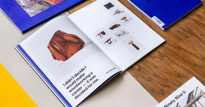 Thiết kế tạp chí 99U lạ lẫm với sự đơn giản đầy công phu