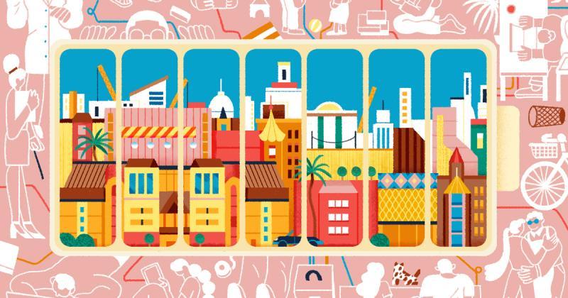 Dạo chơi từ Đông đến Tây qua tranh minh họa của nghệ sĩ Thượng Hải Yulong Lli