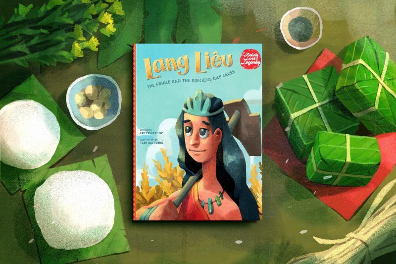 Quá trình khoác áo mới cho Lang Liêu - Đại diện Việt Nam trong tủ sách Asia's Lost Legends