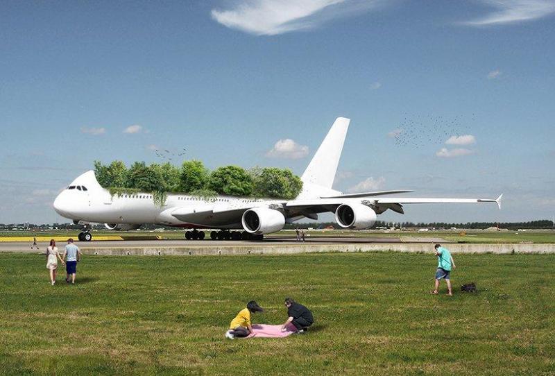 Giãn cách xã hội quá lâu, máy bay trở thành vườn cây di động