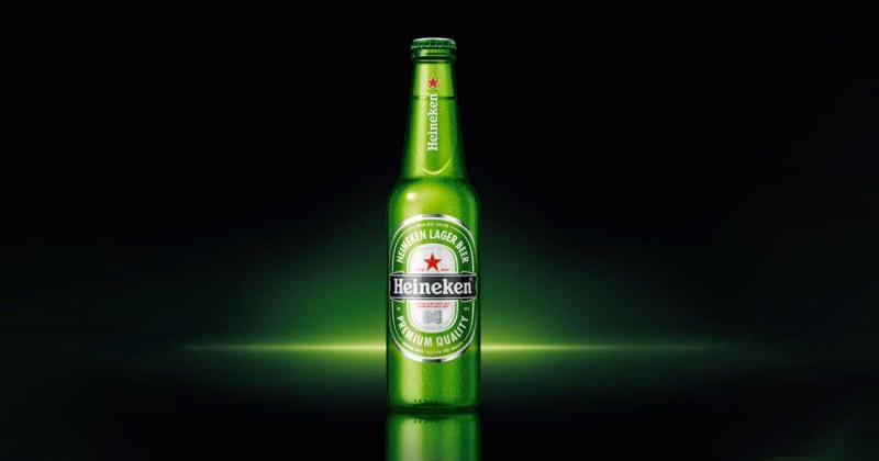 Bí mật sau chữ 'e' mỉm cười của bộ nhận diện bia Heineken