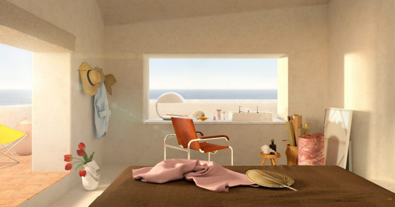 Dự án về một không gian tưởng tượng hoàn hảo để trú ẩn trong những ngày cách ly