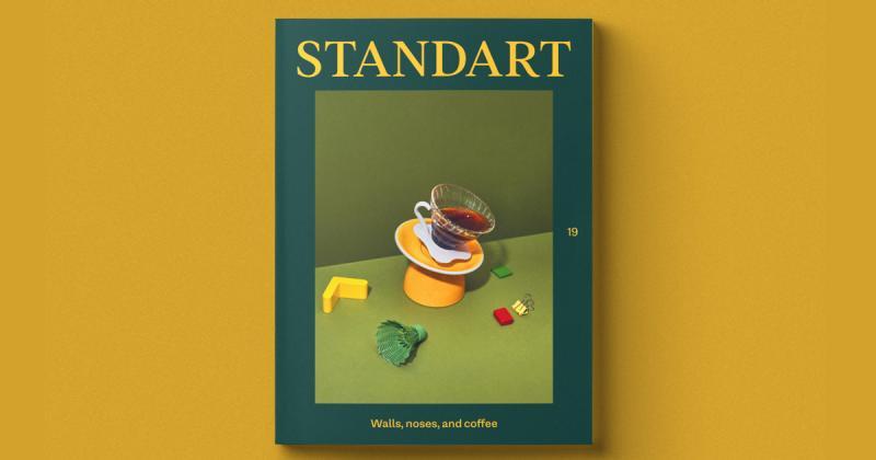 Muôn vẻ về thế giới cà phê trong tạp chí Standart đầy màu sắc