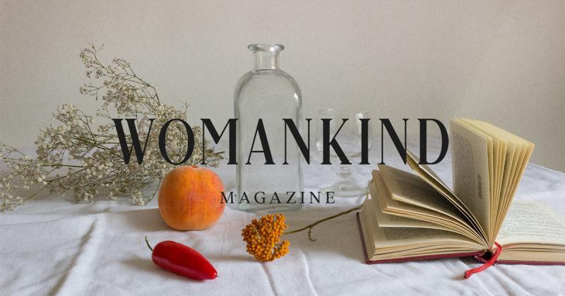 Womankind - Tạp chí tối giản thể hiện sự phong phú bên trong của phụ nữ